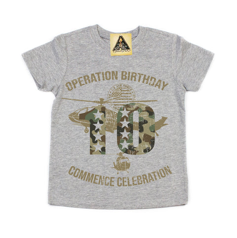 « OPERATION TENTH BIRTHDAY » KID'S TEE