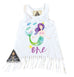 « MERMAID CUSTOM BIRTHDAY » KID'S FRINGE DRESS