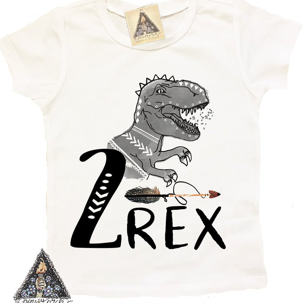 « 2-REX (BOY) » KID'S TEE