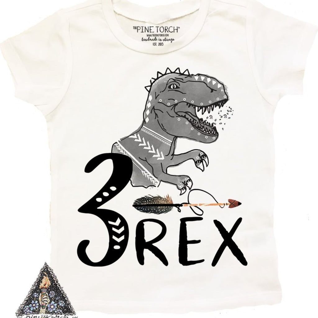 « 3-REX (BOY) » KID'S TEE