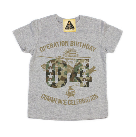 « OPERATION FOURTH BIRTHDAY » KID'S TEE