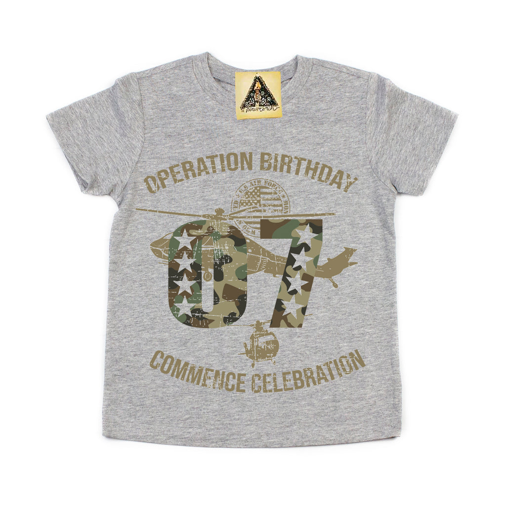 « OPERATION SEVENTH BIRTHDAY » KID'S TEE