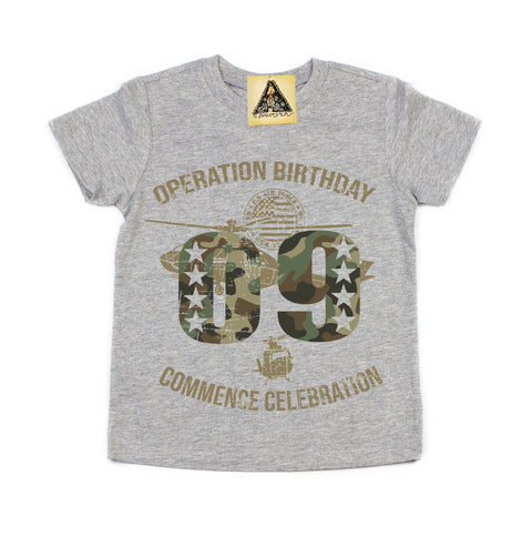 « OPERATION NINTH BIRTHDAY » KID'S TEE