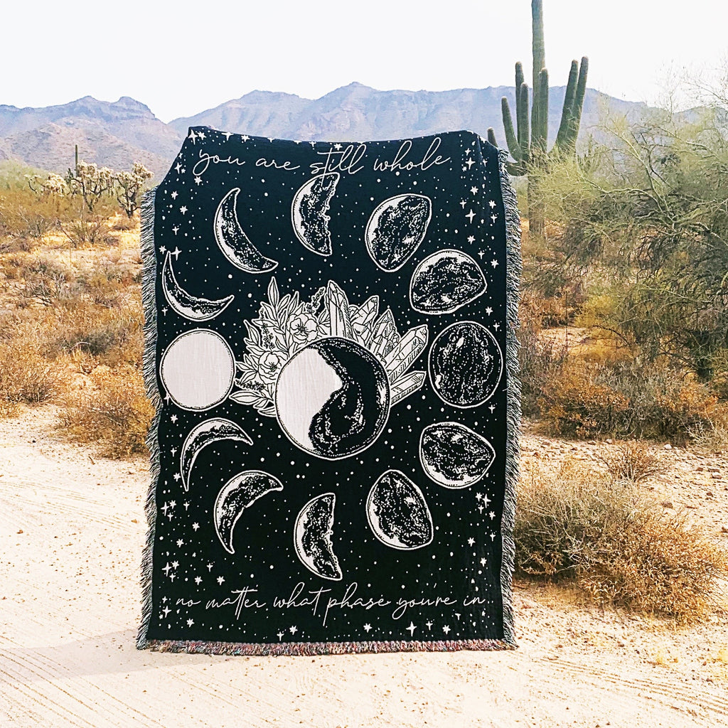 YOU ARE STILL WHOLE // WOVEN FRINGE BLANKET