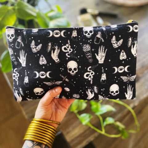 BEWITCHED // COSMETIC ZIP POUCH
