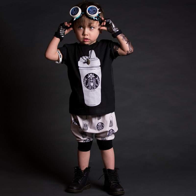 SPECIAL EDITION « COFFEE MUSE BOX » TEE + HAREMS (BOY VERSION)