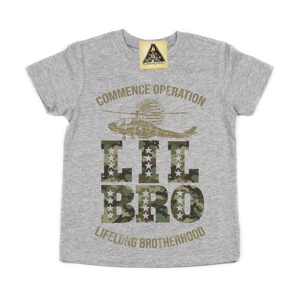 « OPERATION LITTLE BRO » KID'S TEE