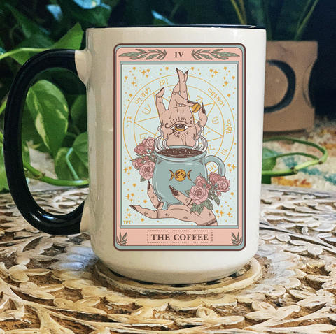 « THE COFFEE TAROT » MUG