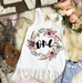 « BOHO FLORAL SECOND BIRTHDAY » KID'S FRINGE DRESS