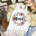 « BOHO FLORAL THIRD BIRTHDAY » KID'S FRINGE DRESS
