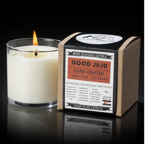 << GOOD JUJU >> HANDCRAFTED CANDLE