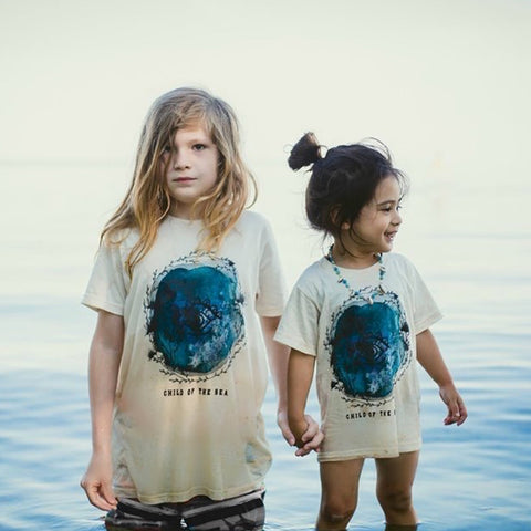 « CHILD OF THE SEA » KIDS TEE
