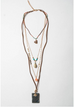 HOLIDAY SALE << DELPHI >> FOUR LAYER BOHO NECKLACE
