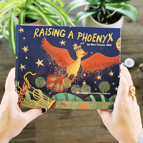 « RAISING A PHOENYX » HARDCOVER BOOK