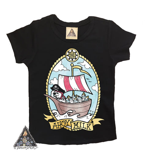 « AHOY MILK » KID'S TEE