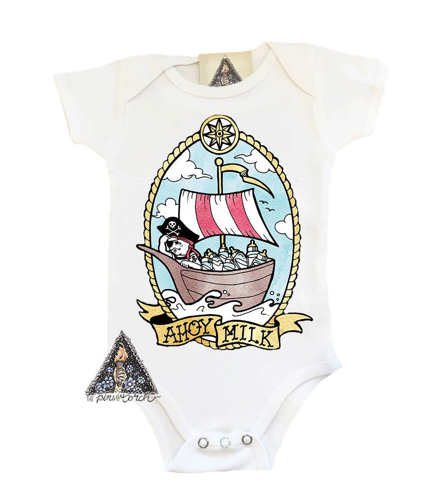 « AHOY MILK » BODYSUIT