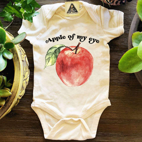 « APPLE OF MY EYE » BODYSUIT