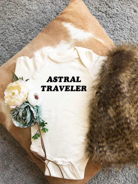 « ASTRAL TRAVELER » CREAM, GRAY or BLACK BODYSUIT