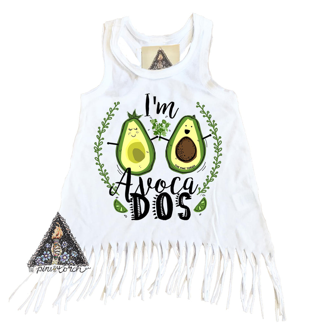 « AVOCA-DOS BIRTHDAY » KID'S FRINGE DRESS