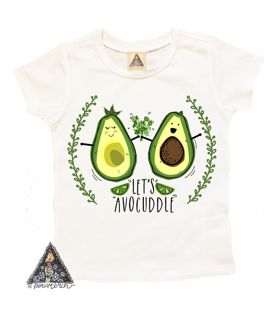 « LET'S AVOCUDDLE » KID'S TEE