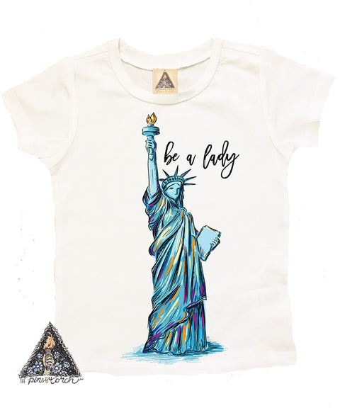 « BE A LADY » YOUTH TEE