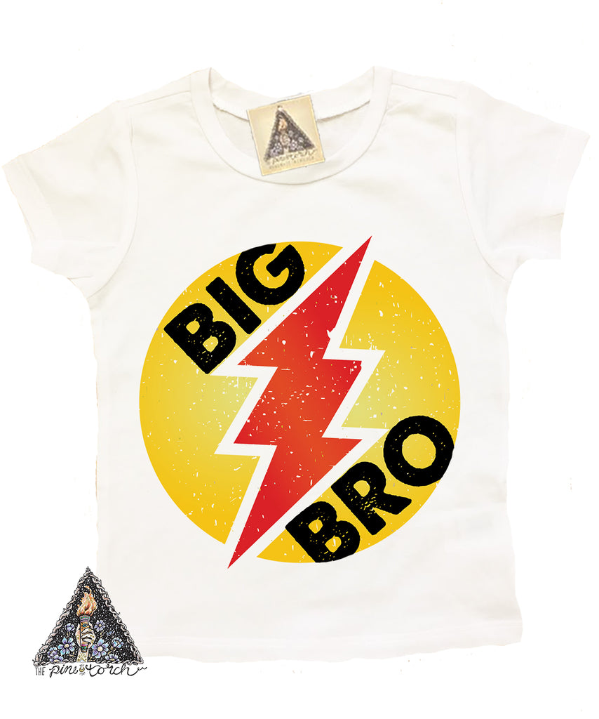 « LIL BRO SUPERHERO » KID'S TEE