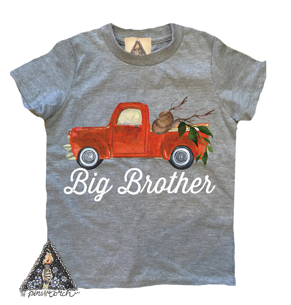« BIG BROTHER VINTAGE TRUCK » KID'S TEE