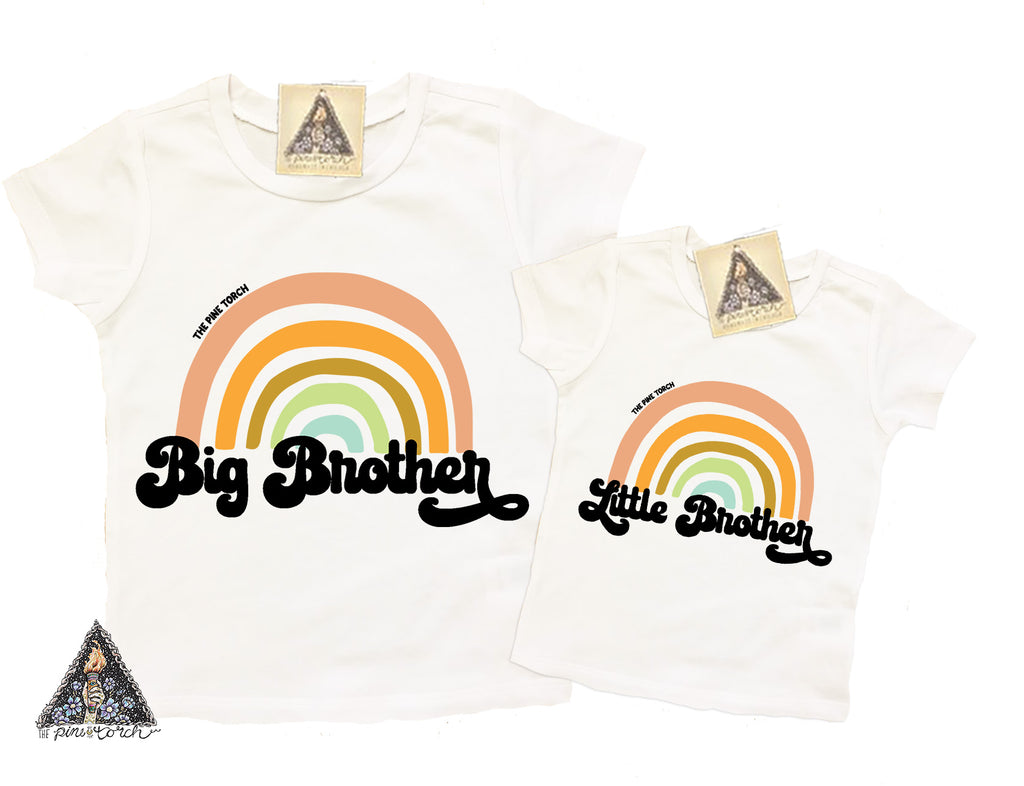 « BIG BROTHER RETRO RAINBOW » KID'S TEE