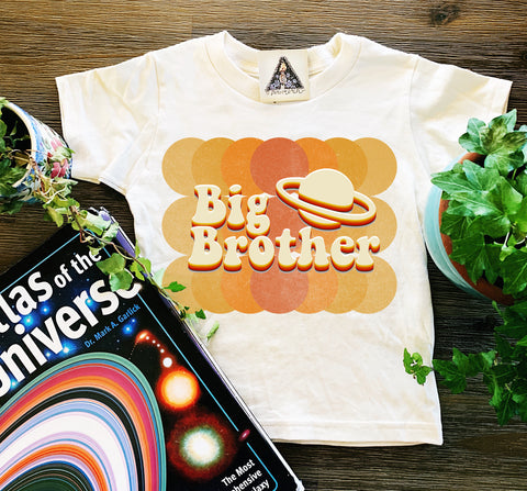 « BIG BROTHER RETRO OUTER SPACE » KID'S TEE