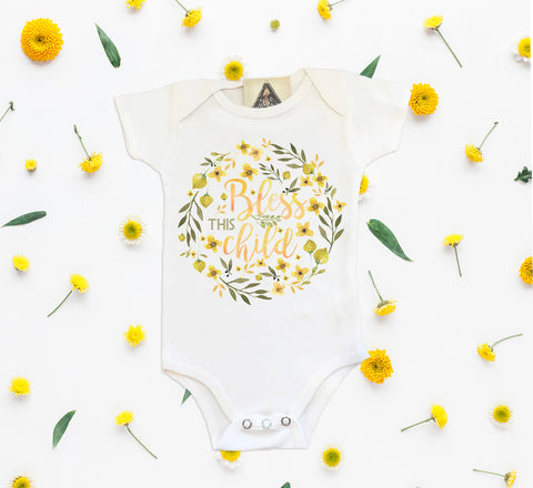 « BLESS THIS CHILD » BODYSUIT