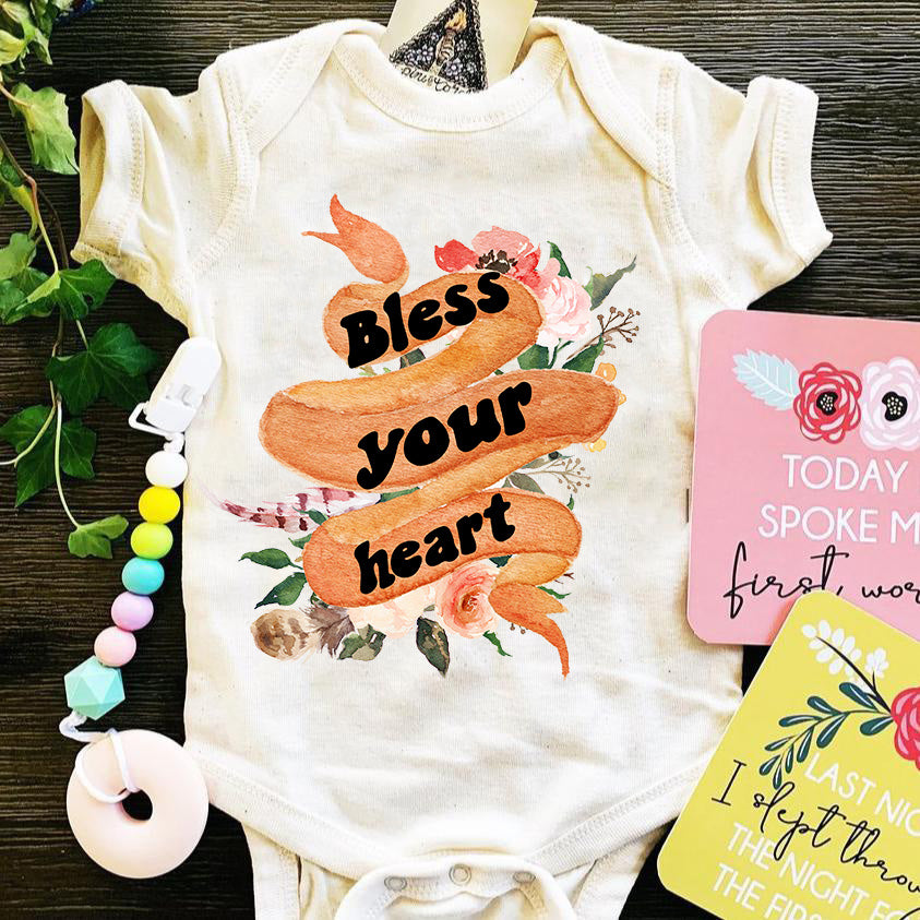 « BLESS YOUR HEART » BODYSUIT