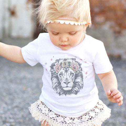 « BOHO LION » BODYSUIT