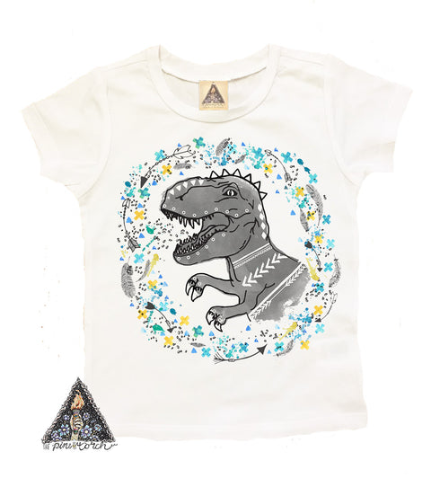 « BOHO REX » YOUTH TEE (BOY DINO)