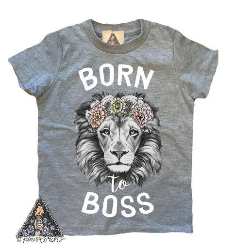 « BORN TO BOSS » KID'S TEE