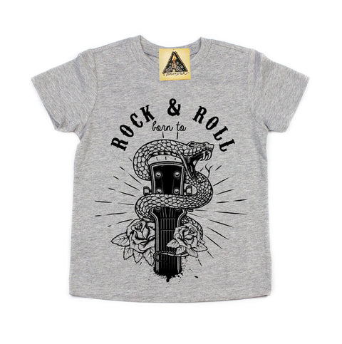 « BORN TO ROCK AND ROLL » KID'S TEE