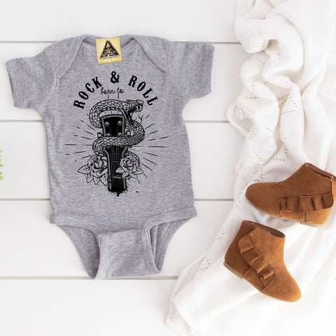 « BORN TO ROCK AND ROLL » BODYSUIT