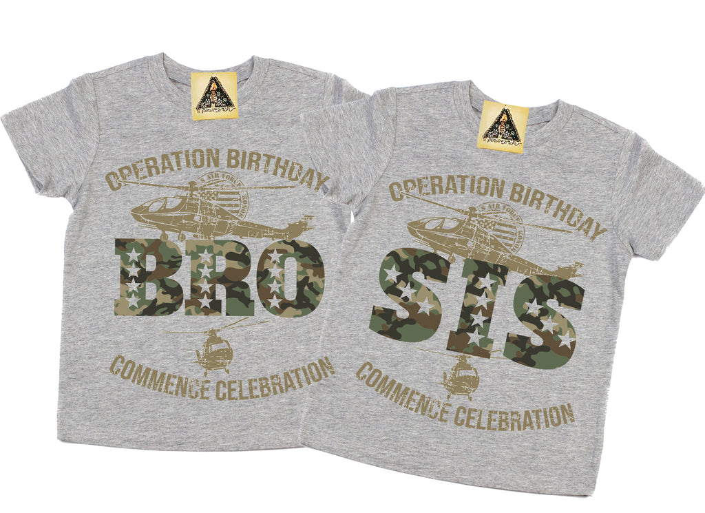 « OPERATION SISTER OF THE BIRTHDAY BOY » KID'S TEE