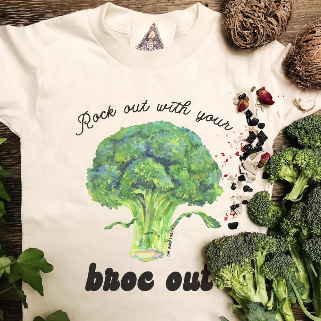 « ROCK OUT WITH YOUR BROC OUT » KID'S TEE