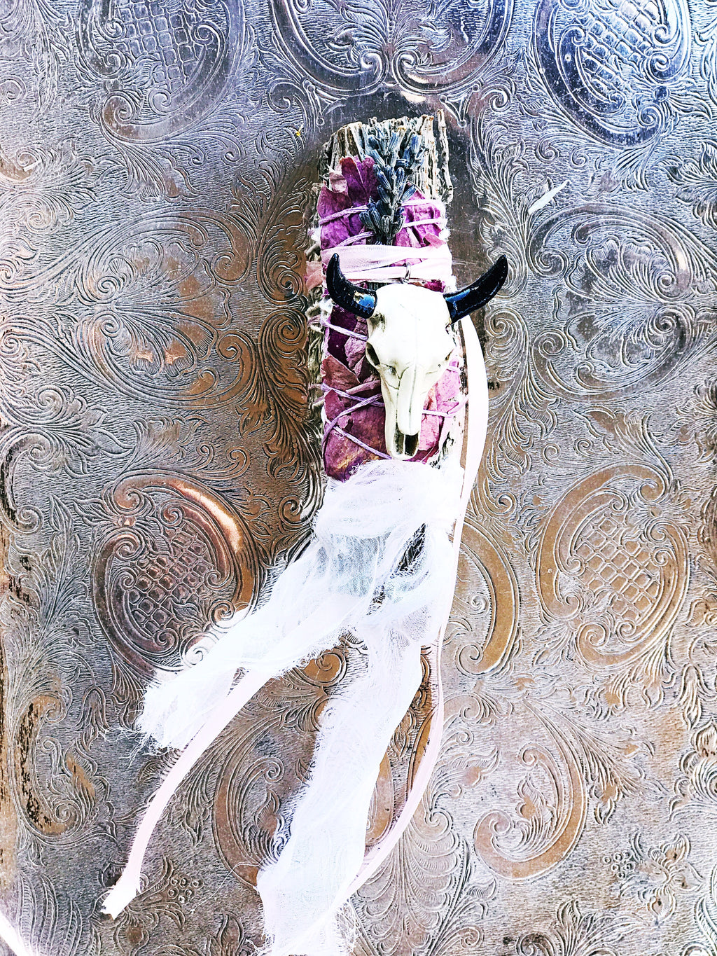 << CUT THE BULL >> HANDCRAFTED SAGE SMUDGE
