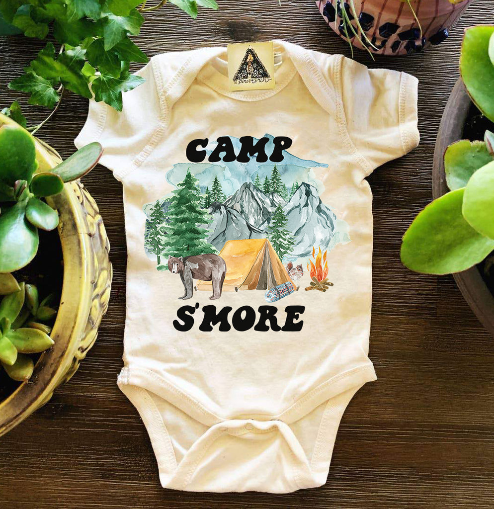 « CAMP S'MORE » BODYSUIT