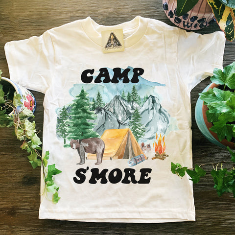 « CAMP S'MORE » KIDS TEE