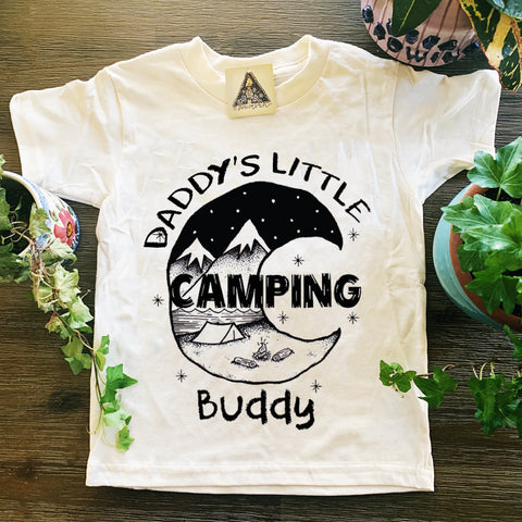 « DADDY'S LITTLE CAMPING BUDDY » KIDS TEE