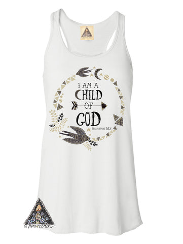 « I AM A CHILD OF GOD » WOMEN'S TANK