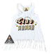 « CIAO MAMMA » KIDS FRINGE DRESS