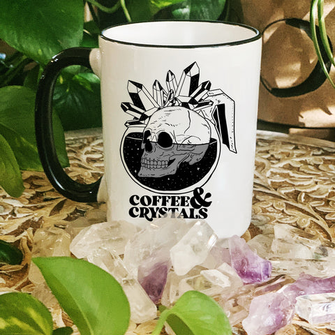 « COFFEE & CRYSTALS » MUG