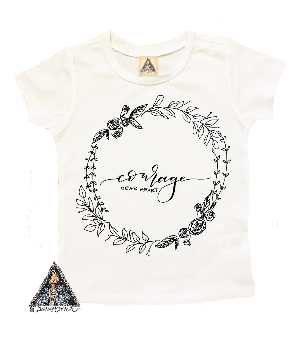 « COURAGE, DEAR HEART » KID'S TEE