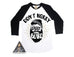 « DON'T WORRY, DADDY HAS A BEARD » MEN'S RAGLAN