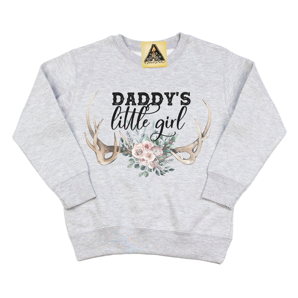 « DADDY'S LITTLE GIRL » KID'S PULLOVER