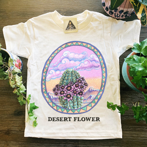 « DESERT FLOWER » KID'S TEE