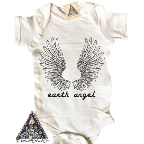 « EARTH ANGEL » CREAM BODYSUIT